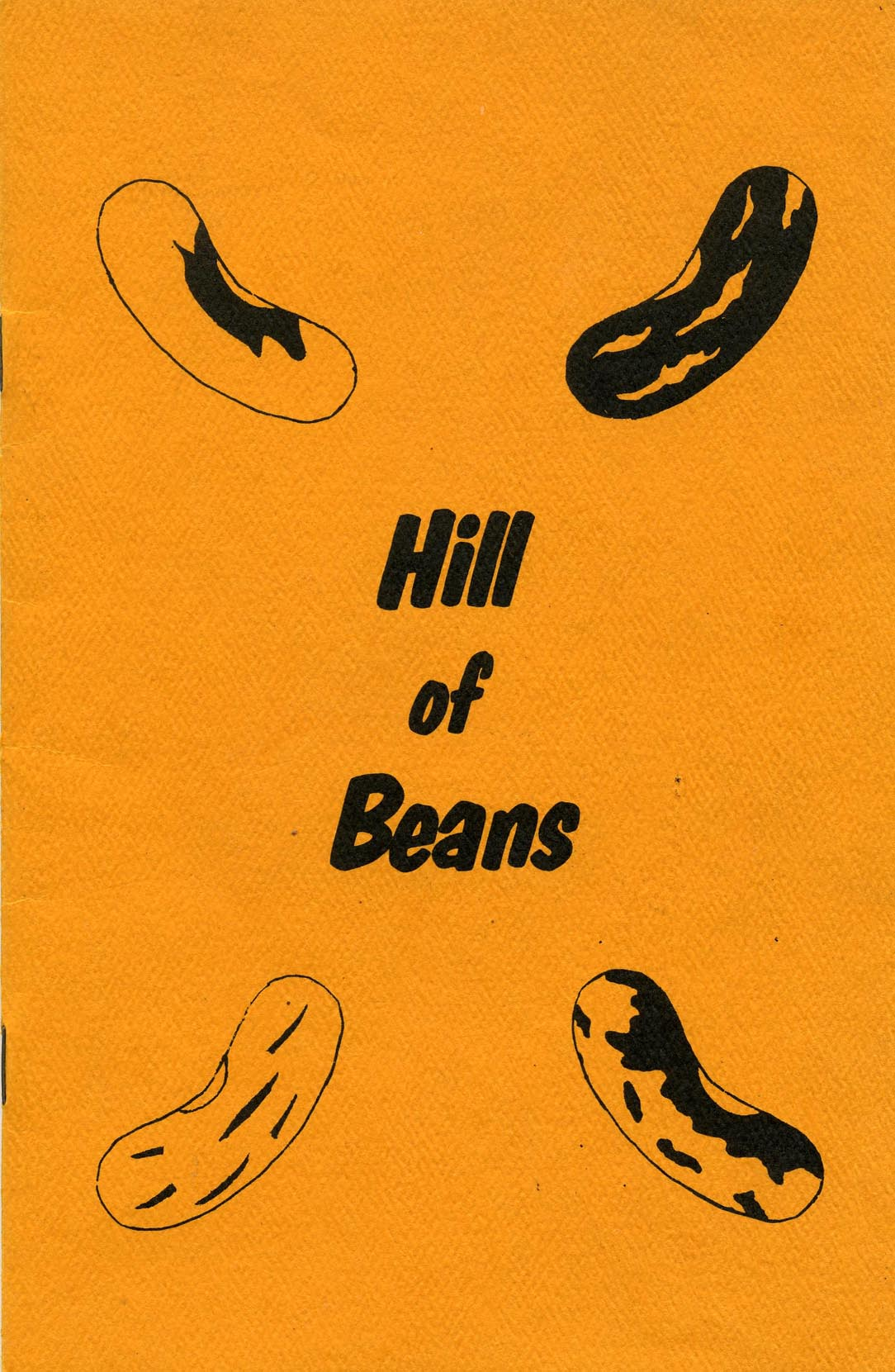 image of Hill Of Bean bean book cover